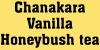 Vanilla Honeybush